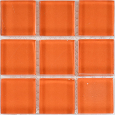 Glass Solid Rust  | 13x13 inch | Glass | Mosaic | Code: OPUS531