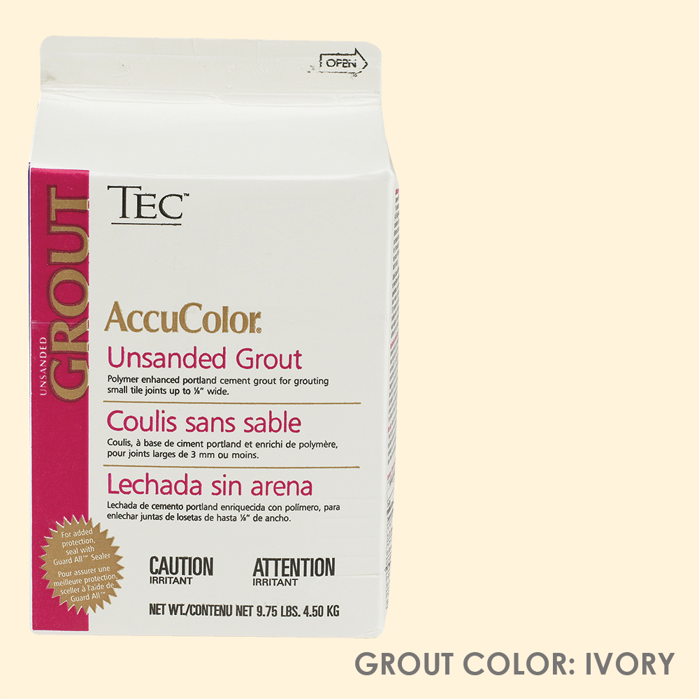 TEC Unsanded Grout - Ivory | 9.75lb | Code: TA620902W10