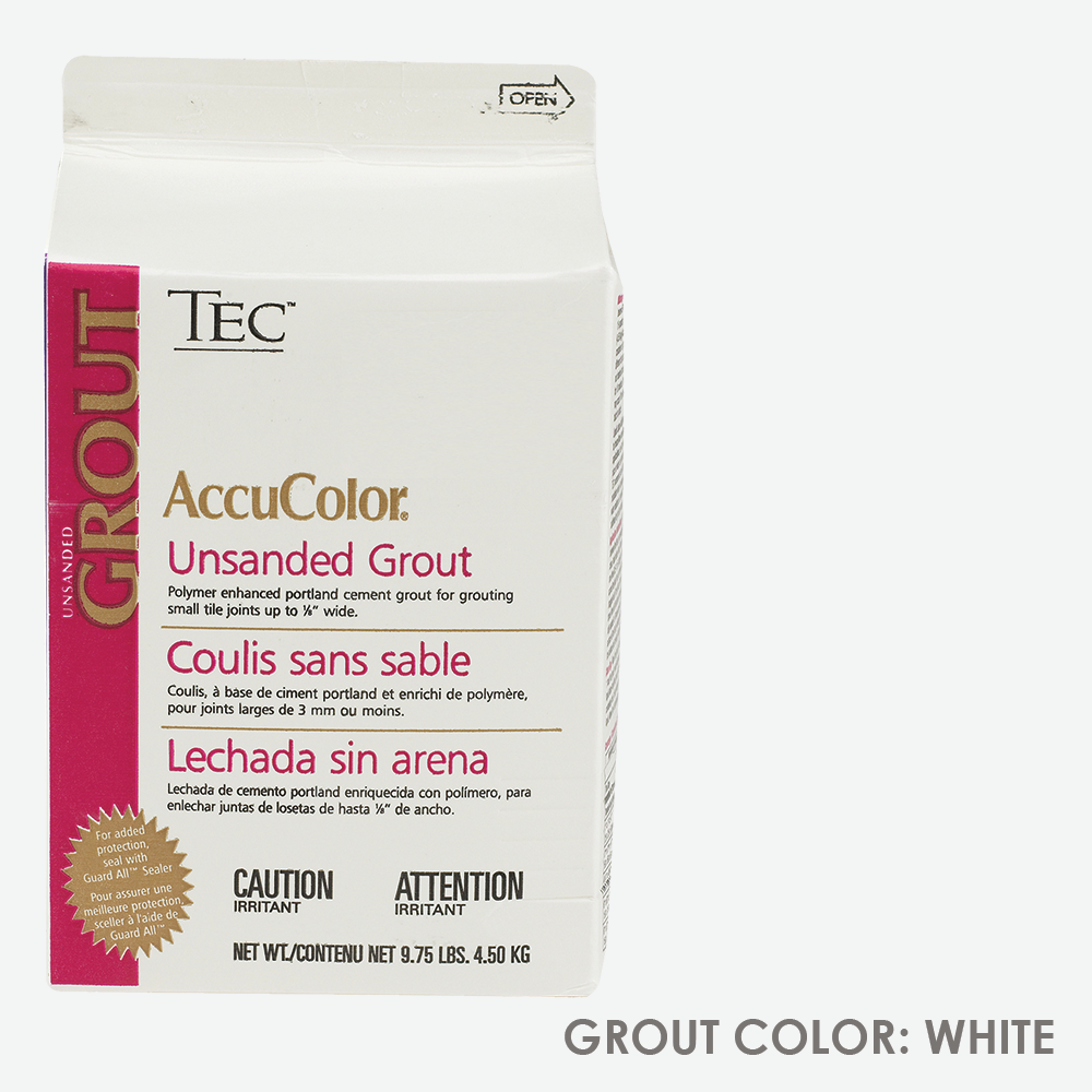 TEC Unsanded Grout - Standard White | 9.75lb | Code: TA620931W10