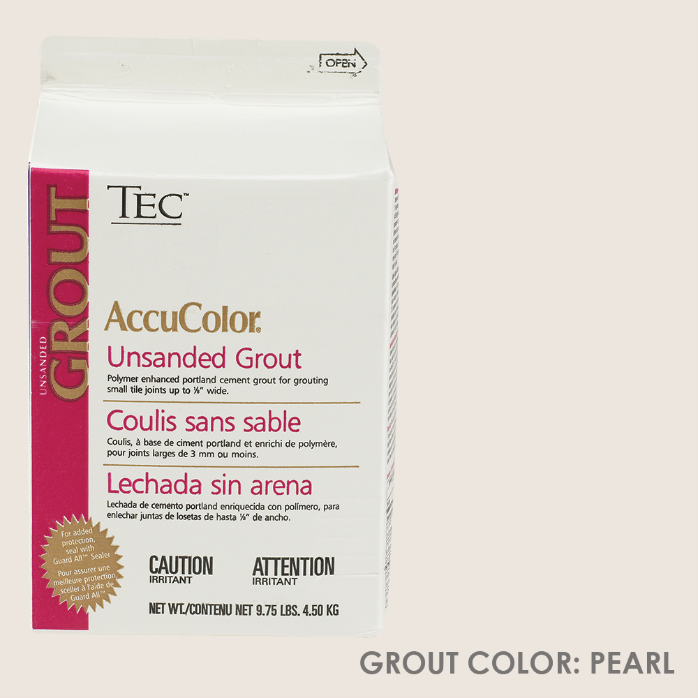 TEC Unsanded Grout - Pearl | 9.75lb | Code: TA620988W10
