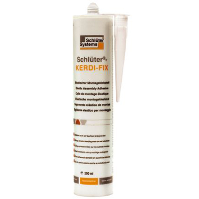 Schluter 290ml Kerdi-Fix Cartridge Grey | Code: KERDIFIXG