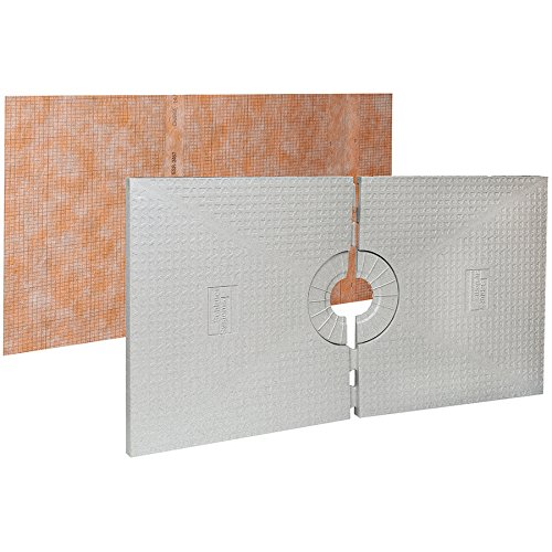 Schluter Kerdi Shower Tray 48X72 - Center Drain | Code: ST122183