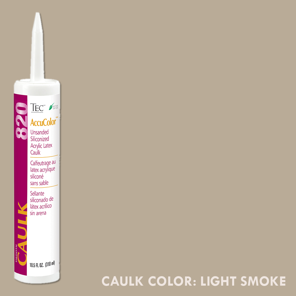 TEC Unsanded Caulking Light Smoke | 10.5oz | Code: TA820915