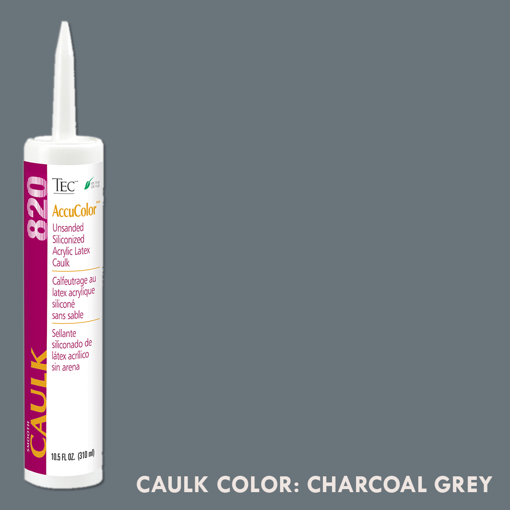 TEC Unsanded Caulking Charcoal Grey | 10.5oz | Code: TA820929