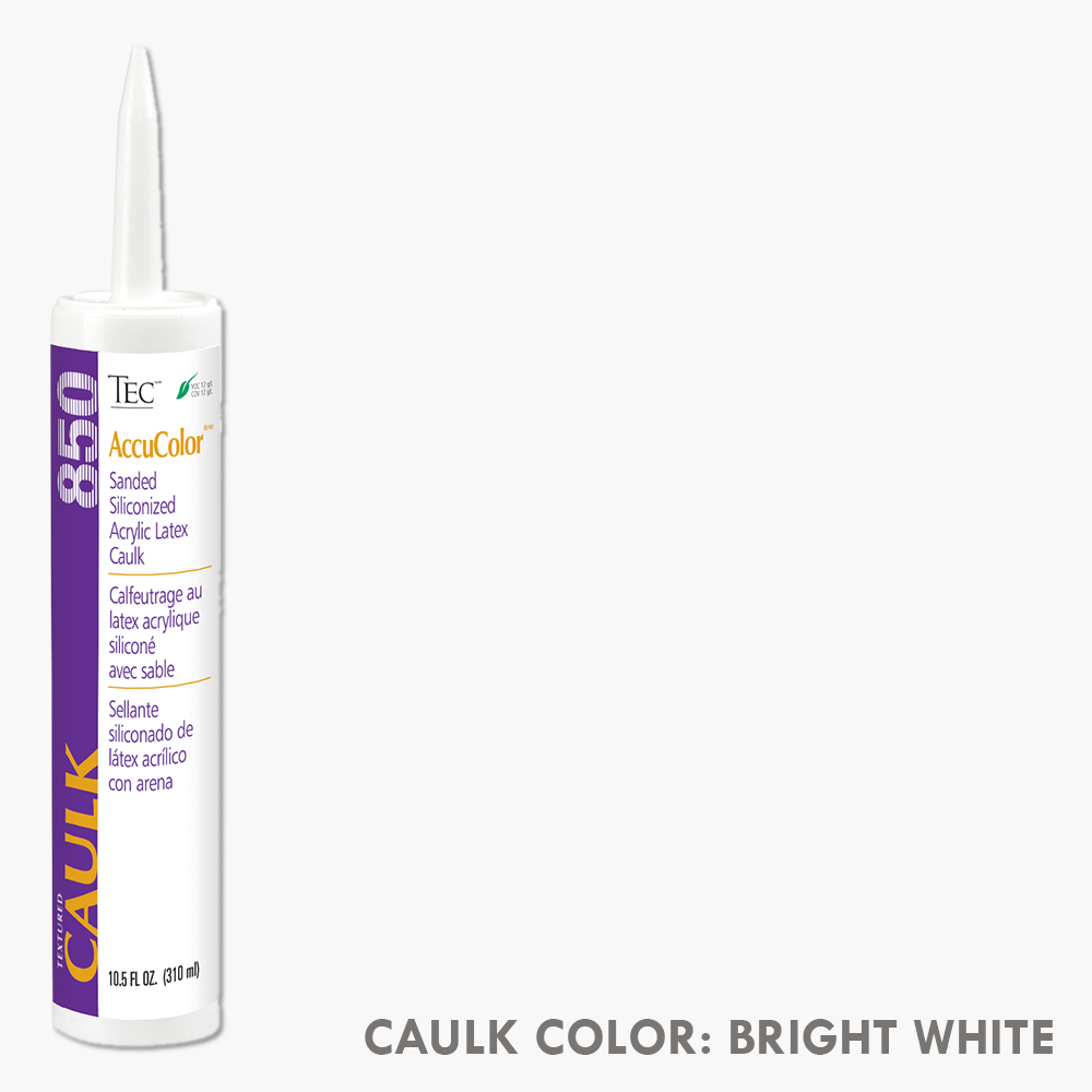 TEC Sanded Caulking Bright White | 10.5oz | Code: TA850910