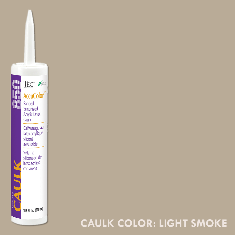 TEC Sanded Caulking Light Smoke | 10.5oz | Code: TA850915