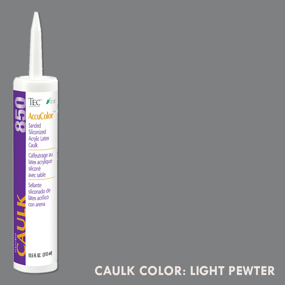 TEC Sanded Caulking Light Pewter | 10.5oz | Code: TA850927