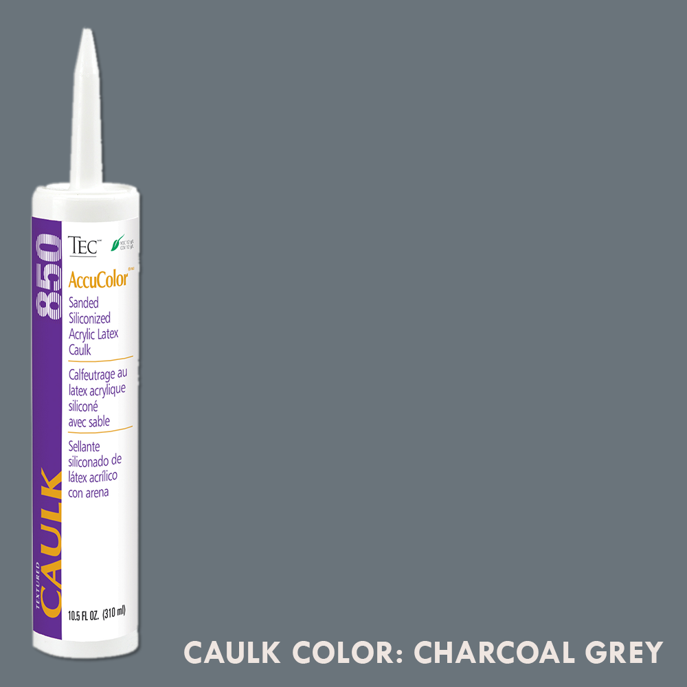 TEC Sanded Caulking Charcoal Grey | 10.5oz | Code: TA850929