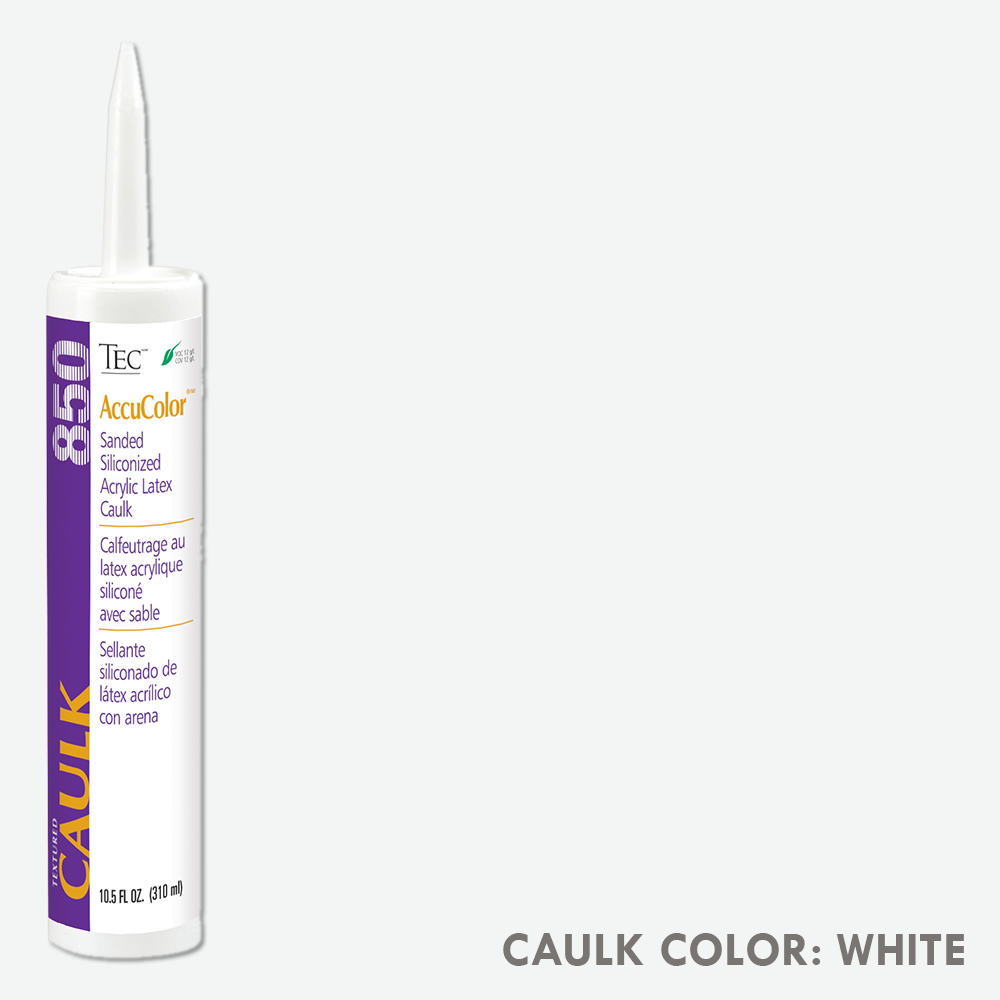 TEC Sanded Caulking White | 10.5oz | Code: TA850931