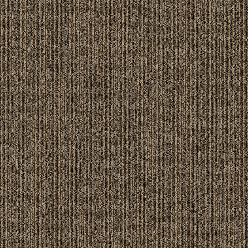 Tamworth 692 Brown 20x40 Inch Carpet Tile 53 82