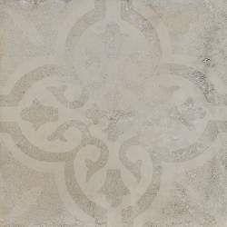 A.Mano White Decor | 12x12 inch | Technical Porcelain | Floor/Wall | Code: AMWHDE
