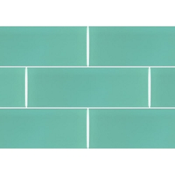 Ral Colour Turquoise Mat | 4x12 inch | Ceramic | Wall | Code: K867265