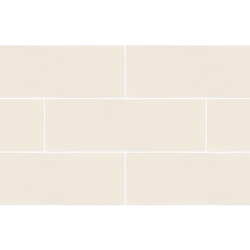 RAL Colour Bone Matt | 4x12 inch | Ceramic - Wall Tile | Residential | Code: K944209