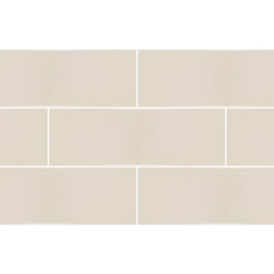 RAL Colour Cream Glossy | 4x12 inch | Ceramic | Wall | Code: K944217