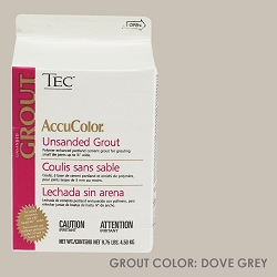 TEC Unsanded Grout - Dove Grey | 9.75lb | Code: TA620908W10