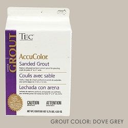 TEC Sanded Grout - Dove Grey | 9.75lb | Code: TA650908F10
