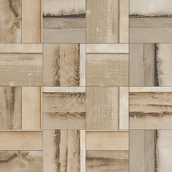 Urban Wood Beige Polished | 6x6 inch | Digital Printed Porcelain | Residential | Code: UW152LR