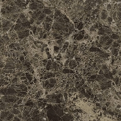 Marble Deluxe Dark Emperador Glossy | 18x18 inch | Glazed Porcelain | Floor/Wall | Code: D6612N