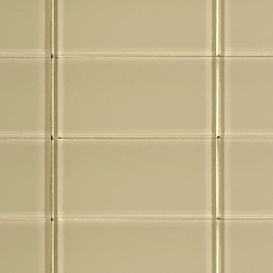 Glass Solid Warm Beige | 3x6 inch | Glass | Wall | Code: OPUS57736N