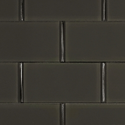 Glass Solid Warm Grey | 3x6 inch | Glass | Wall | Code: OPUS58136N