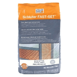 Schluter FAST-SET Specialized Modified Thin-Set Mortar Grey | 50 lbs | Code: SETF50G