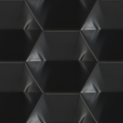 Magical Star Black Matte | 4x5 inch | Ceramic | Wall | Code: ST23028