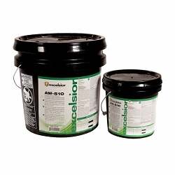 Excelsior AW510 Acrylic Wet Set Adhesive | 1 Gal | Vinyl, Rubber, Quartz Adhesive | Code:  GEX510
