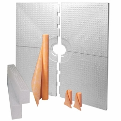 Schluter Kerdi-Shower Kit | 72x72 inch (No Drain Included) | Code: KK183