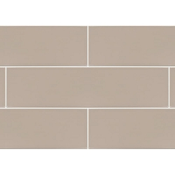 Urban Light Taupe Glossy | 4x16 inch | Ceramic - Wall Tile | Commercial | Code: NH1454