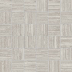 Strand Silver Matte | 12x12 inch | Digital Printed Porcelain | Mosaic | Code: STSIMO22