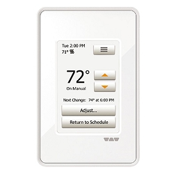 Schluter Ditra Heat Touchscreen Thermostat | Programmable | Code: DHERT102BW