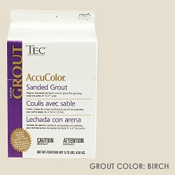 TEC Sanded Grout - Birch | 9.75lb | Code: TA650903F10