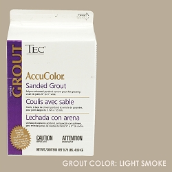 TEC Sanded Grout - Light Smoke | 9.75lb | Code: TA650915F10