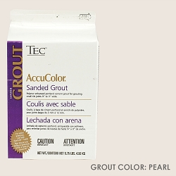TEC Sanded Grout - Pearl | 9.75lb | Code: TA650988F10