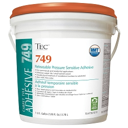 TEC Releasable Pressure Sensitive Adhesive. 1 Gal.  | Carpet Tile Adhesive | Code: TA749G