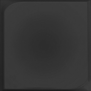 Chic Square Black Relief Matte | 10x10 inch | Ceramic - Wall Tile | Commercial | Code: CHBLSQRM