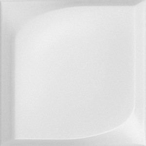Chic Dot White Relief Matte | 5x5 inch | Ceramic | Wall | Code: CHWHDORM