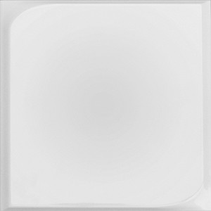 Chic Square White Relief Matte | 10x10 inch | Ceramic - Wall Tile | Commercial | Code: CHWHSQRM