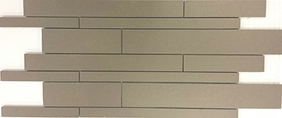 Icon Taupe Random  | 12x24 inch | Double Loaded Porcelain | Mosaic | Code: ICTAMO