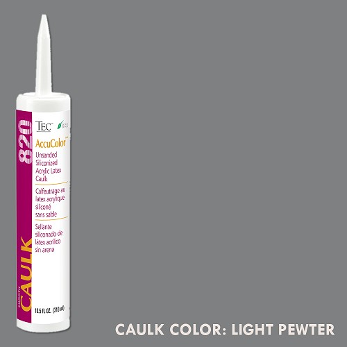 TEC Unsanded Caulking Light Pewter | 10.5oz | Code: TA820927
