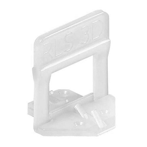 Raimondi Tile Leveling System 3D RLS Leveling Spacer Clips 100 pieces | Code: 180B01MM3D0100