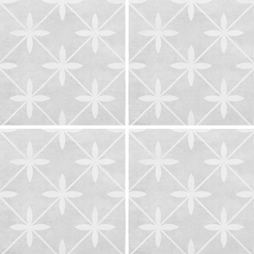 Laura Ashley Wicker Dove Grey Matte | 13x13 inch | Ceramic | Floor | Code: LA51997