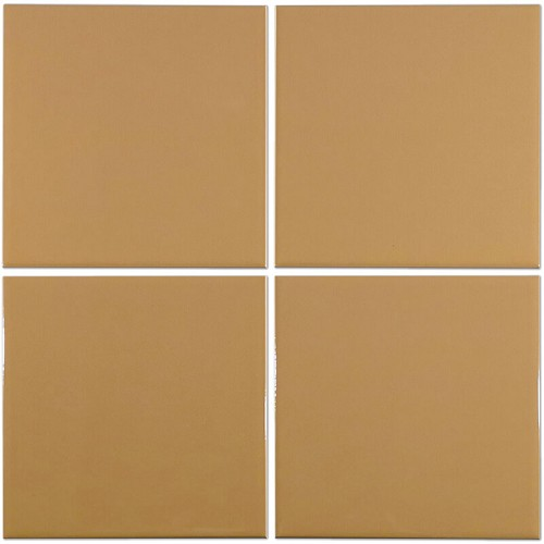 Plain Camel Brite | 6x6 inch | Ceramic - Wall Tile | Commercial | Code: INU748B
