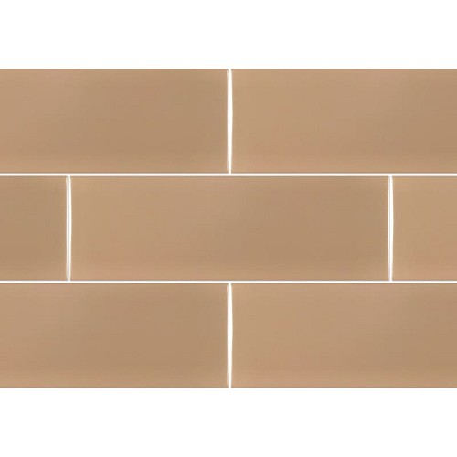 Ral Colour Brown Mat | 4x12 inch | Ceramic | Wall | Code: K791832