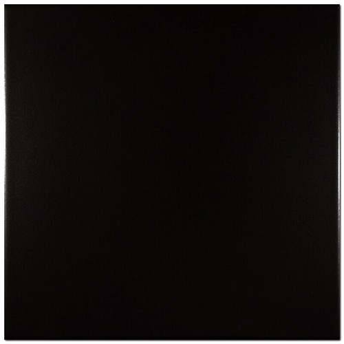 RAL Colour Black Glossy | 8x8 inch | Ceramic - Ceramic Floor | Commercial | Code: K798451