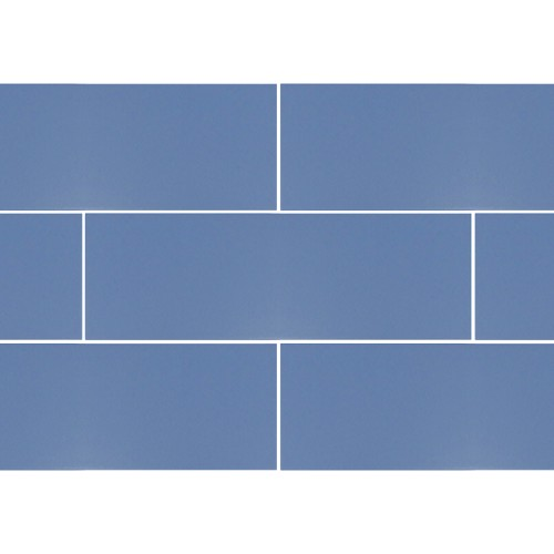 Ral Colour Dark Blue Mat | 4x12 inch | Ceramic | Wall | Code: K891335