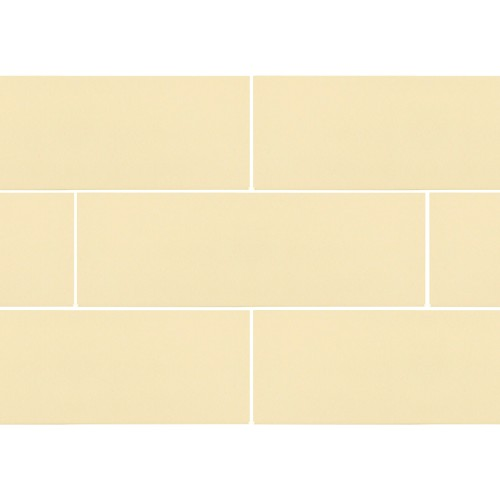 Ral Colour Light Beige Glossy | 4x12 inch | Ceramic | Wall | Code: K903113