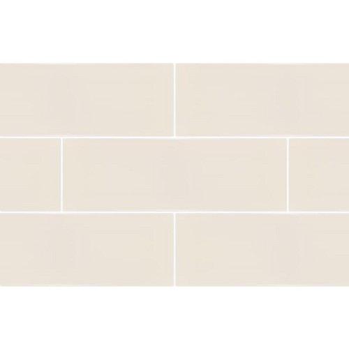 RAL Colour Light Grey Glossy | 4x12 inch | Ceramic | Wall | Code: K944219