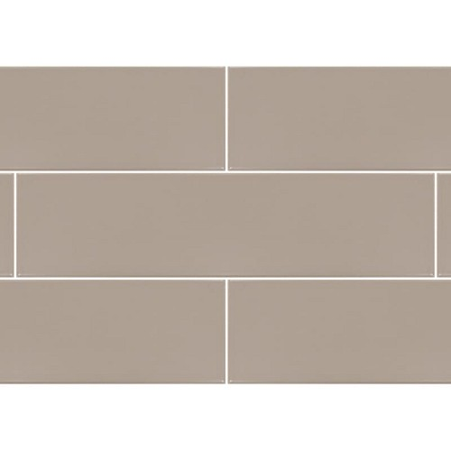Urban Light Taupe Matte | 4x16 inch | Ceramic | Wall | NH1415