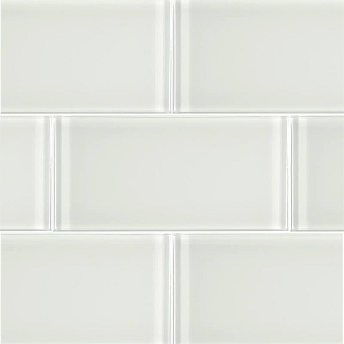 Glass Solid White | 3x6 inch | Glass | Wall | Code: OPUS57536